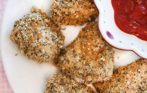 nugget de poulet au chia