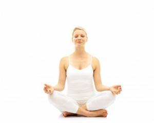 pose de la méditation assise