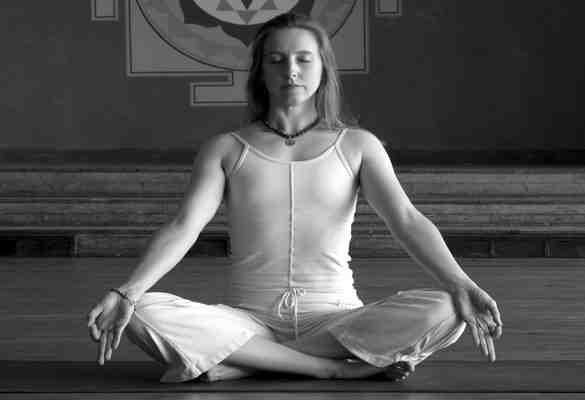 Sukhasana : posture facile
