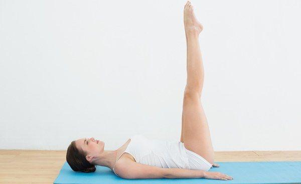 Uttanpadasana : posture des jambes levées