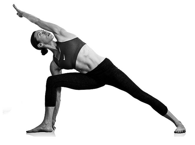 Utthita Parsvakonasana : posture de l'angle latéral
