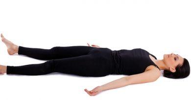 Shavasana : posture du cadavre