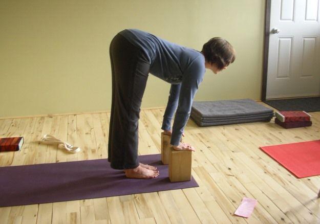 Urdhva uttanasana : posture penchée en avant