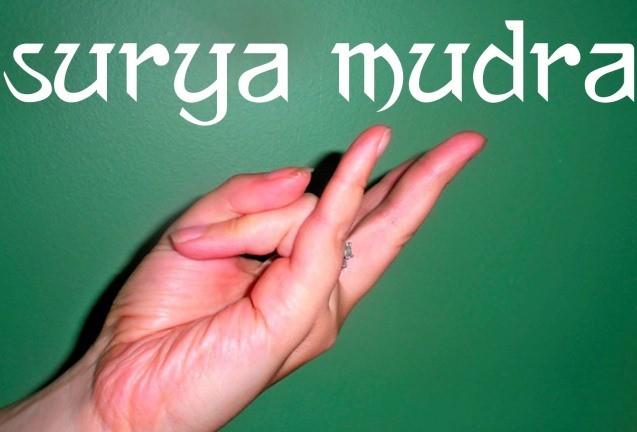 Surya Mudra : le geste du feu