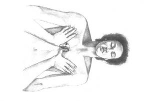 massage ayurvédique de la poitrine