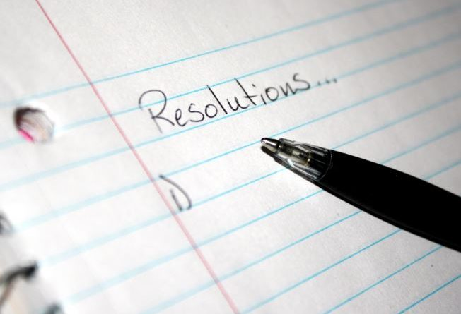 résolutions 2017