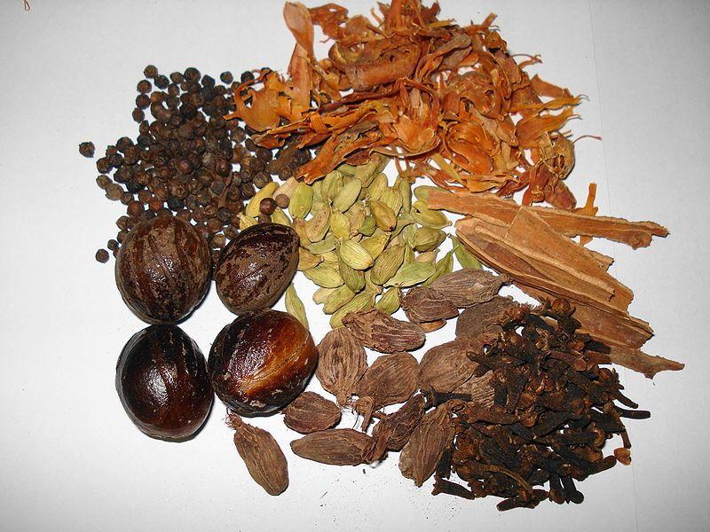 composition garam masala
