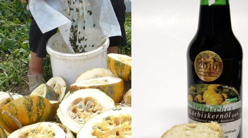 Les bienfaits de l'huile de pépins de courge