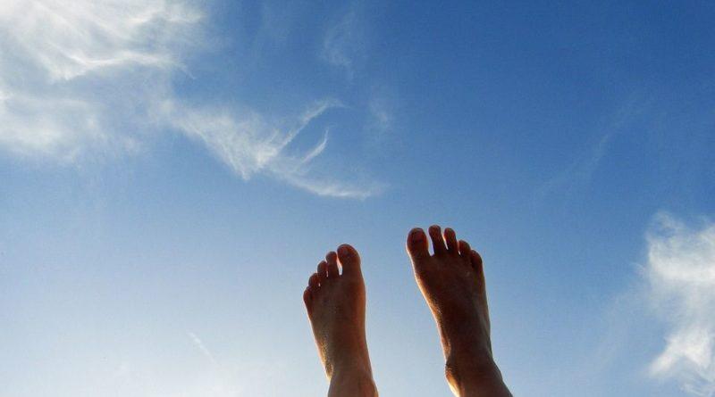 pieds nus